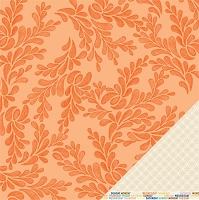 American Crafts - Amy Tangerine - Ready Set Go - 12x12 Double Sided Cardstock Sheet - Wind Down