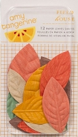 American Crafts - Amy Tangerine - Ready Set Go - Field House Paper Leaves