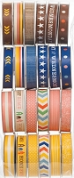 American Crafts - Amy Tangerine - Ready Set Go - Value Pack Premium Ribbon 24/Pkg