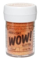 American Crafts - Wow! Glitter - Extra Fine - Neon Carrot