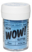 American Crafts - Wow! Glitter - Extra Fine - Neon Ocean
