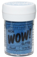 American Crafts - Wow! Glitter - Extra Fine - Neon Peacock