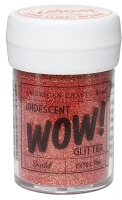 American Crafts - Wow! Glitter - Extra Fine - Iridescent Scarlet