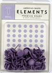 American Crafts Medium Brads - Lavender