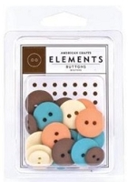 American Crafts - Buttons - The Classics Assortment