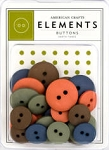 American Crafts Buttons - Earthtones