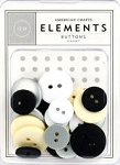 American Crafts Buttons - Elegant