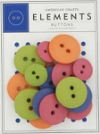 American Crafts Buttons - Junior Assortment