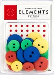 American Crafts Buttons - Primary
