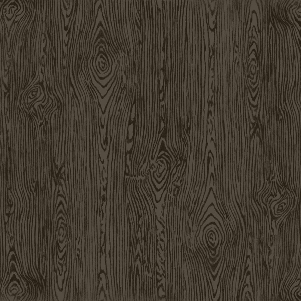 "American Crafts - 12"" x 12"" Woodgrain Textured Cardstock - Black"