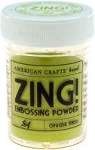 American Crafts Embossing Powder - Zing Opaque Leaf