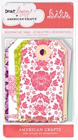 American Crafts - Dear Lizzy Enchanted Collection - Bits Tags