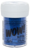 American Crafts  - WOW! Glitter - Extra Fine - Sapphire