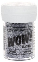 American Crafts  - WOW! Glitter - Extra Fine - Graphite