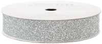 American Crafts Glitter Tape - Silver - (5/8