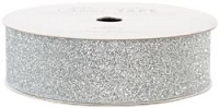 American Crafts Glitter Tape - Silver - (7/8