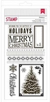 American Crafts - Kringle & Co.  - Acrylic Stamps