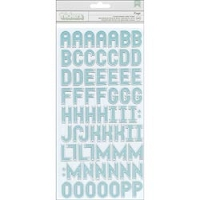 American Crafts - Thickers - Alphabet Thickers Kringle & Co. - Glossy Chipboard Fountain