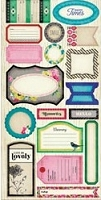 Crate Paper - On Trend Collection - Cardstock Stickers - Phrases