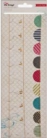 Crate Paper - On Trend Collection - Vellum Garlands Mini Banners