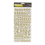 American Crafts Thickers Chipboard Stickers - Hello Sunshine Series -