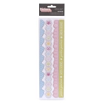 American Crafts Thickers Chipboard Border Accent Stickers - Sunrise