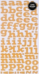 American Crafts Thickers Printed Chipboard Stickers - Flat Butterscotch Dot