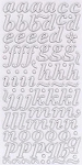 American Crafts Thickers Printed Chipboard Stickers - Marquise White