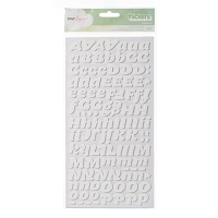 American Crafts - Dear Lizzy Neapolitan Thickers - Serendipity - White - Foam