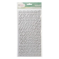 American Crafts - Dear Lizzy Neapolitan Thickers - Splendid - Smoke - Matte Puffy