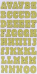 American Crafts Thickers Chipboard Stickers - Hello Sunshine Series - Pat Chip - Limeade