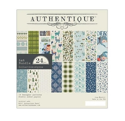 Authentique - Alpine Collection - 6x6 Paper Pad