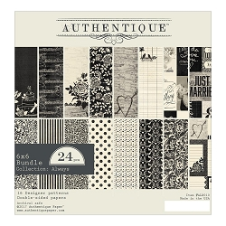 Authentique - Always Collection - 6x6 Paper Pad