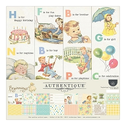 Authentique - Beginnings Collection - Collection Kit