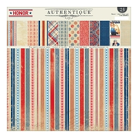 Authentique - Honor Collection - 12x12 paper pad