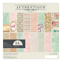 Authentique - Imagine Collection - 6x6 Paper Pad