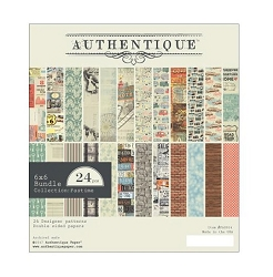 Authentique - Pastime Collection - 6x6 Paper Pad