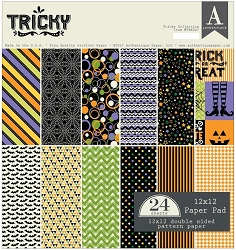 Authentique - Tricky Collection - 12x12 paper pad