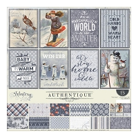 Authentique - Wintery Collection - Collection Kit