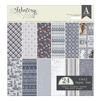 Authentique - Wintery Collection - 12x12 paper pad