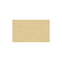 Authentique - Faith Collection - Petite Diction Stickers (Ivory)
