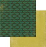 Authentique-Paper-6x6-Freebird-Green Oval