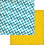 Authentique-Paper-6x6-Freebird-Blue Houndstooth