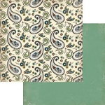 Authentique-Paper-6x6-Freebird-Multi Color Paisley