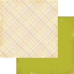 Authentique-Paper-6x6-Freebird-Multi Color Plaid