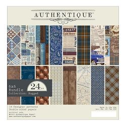 Authentique - Rugged Collection - 6x6 Paper Pad