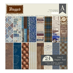 Authentique - Rugged Collection - 12x12 paper pad