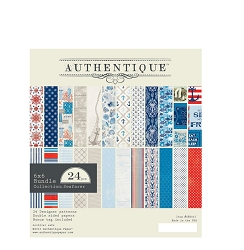 Authentique - Seafarer Collection - 6x6 Paper Pad