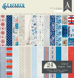 Authentique - Seafarer Collection - 12x12 paper pad