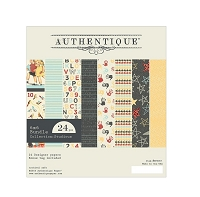 Authentique - Studious Collection - 6x6 Paper Pad